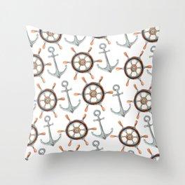 Nautical #1 Throw Pillow