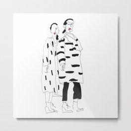 zuzu&zaza Metal Print