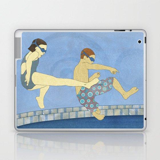Jack Knife Pool Party Laptop & iPad Skin