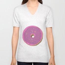Donut Touch Me Unisex V-Neck