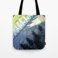 chess Tote Bags featuring Chess by Beatrice