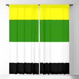 Skoliosexual Flag Blackout Curtain
