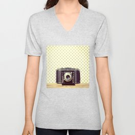Vintage Camera Love: Ancso Speedex Standard! Unisex V-Neck