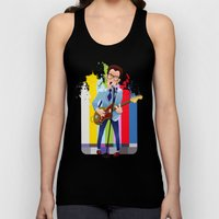 Elvis (Costello) Lives! Unisex Tank Top