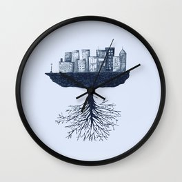 The World Against the World Wall Clock