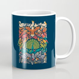 Aerial Spectrum : Blue Coffee Mug