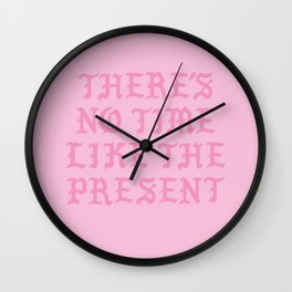 NO TIME Wall Clock