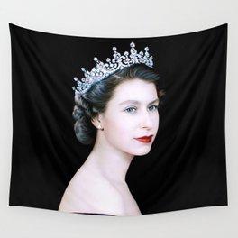 Queen Elizabeth II - The Young Queen Wall Tapestry