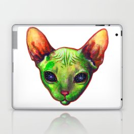 Alien sphynx cat Laptop & iPad Skin
