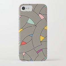 Modern Scandinavian Multi Colour Color Curve Graphic Slim Case iPhone 7