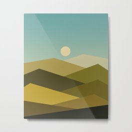 Landscape NC 02 Metal Print