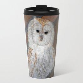 Baby Barn Owl Travel Mug