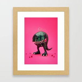 Melon-Rex Framed Art Print