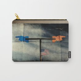 Immigration and The Wind Of Times. Carry-All Pouch