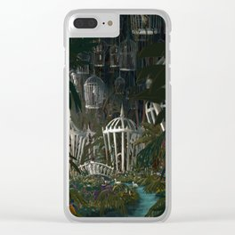 Menagerie Clear iPhone Case