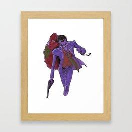 Holiday Jokester Framed Art Print