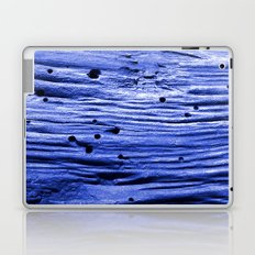 blue wood Laptop & iPad Skin