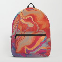 DRAMAQUEEN GOLD FIRE by Monika Strigel Backpack
