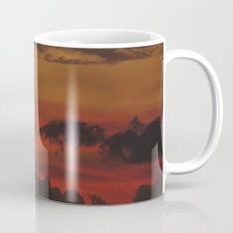 A Sky On Fire - 2 Coffee Mug