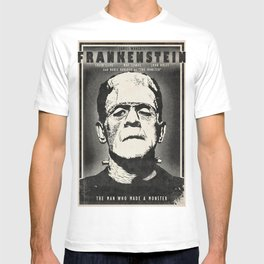 Frankenstein (B&W) T-shirt