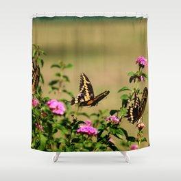 Three's Company Shower Curtain