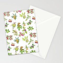 Tropical Fruit Stationery Cards