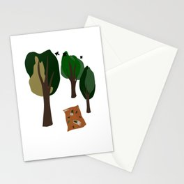 Picnic Under the Trees Stationery Cards