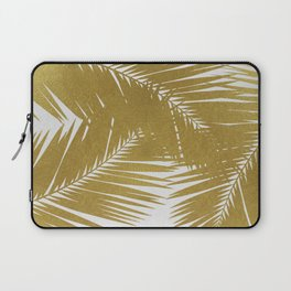 Palm Leaf Gold III Laptop Sleeve