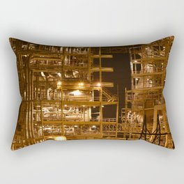 Ocotillo Power Plant Rectangular Pillow