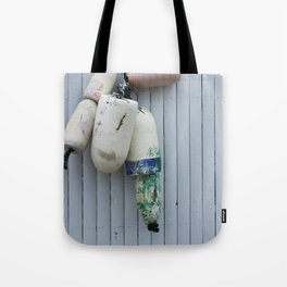 Amagansett Buoys Tote Bag