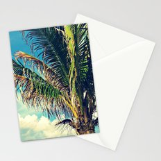 Breezy Beach Palm Stationery Cards