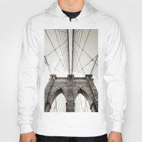 brooklyn bridge Hoodies featuring Brooklyn Bridge by Niklas Veenhuis