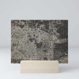 Scottsdale map Arizona Ink lines Mini Art Print