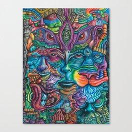 Reyes De La Jungla (Kings of the Jungle) By Tyler Aalbu Canvas Print