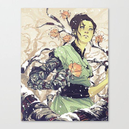 Glitches Canvas Print