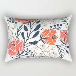 Lovely Flowers Rectangular Pillow