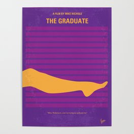 No135 My THE GRADUATE mmp Poster