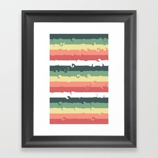 Candy Roll Framed Art Print