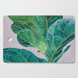 Ficus lyrata Cutting Board