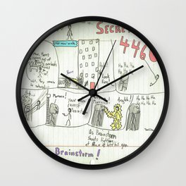 Max Morrocco: Issue 3 Wall Clock