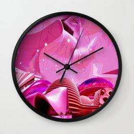 Body vs. Architecture Wall Clock