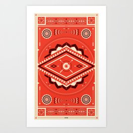 The Indian EYE Art Print