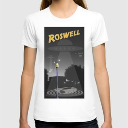 Aliens Over Roswell T-shirt