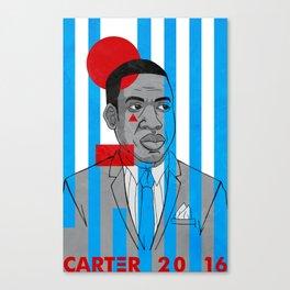 Carter 2016 Canvas Print