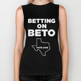 Betting on Beto Biker Tank
