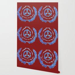 SCP foundation blue crest symbol Wallpaper