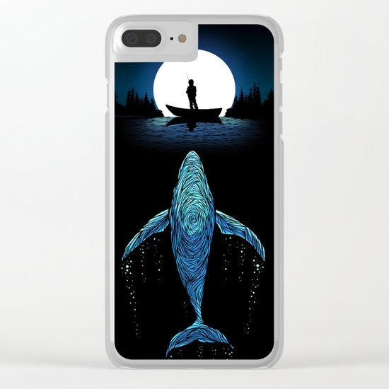 Whale Clear iPhone Case