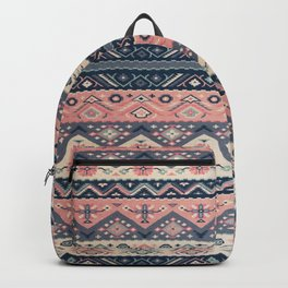 -A23- Epic Anthropologie Traditional Moroccan Artwork. Backpack