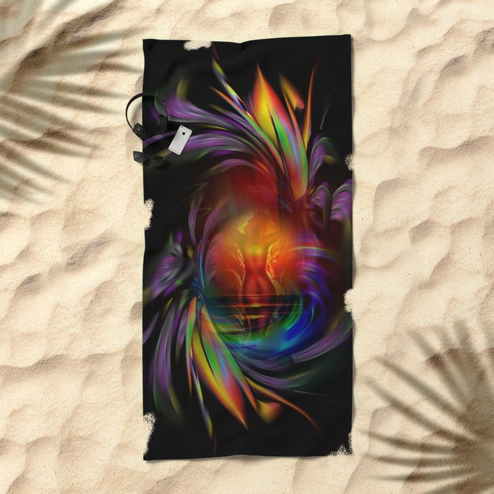 Fertile imagination 15 Beach Towel