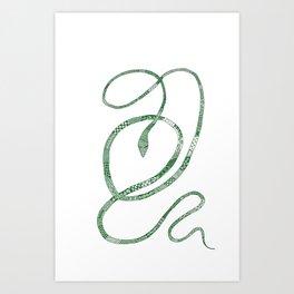 Vine Snake Art Print